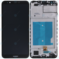 Huawei Y7 Prime 2018 Display module frontcover+lcd+digitizer black
