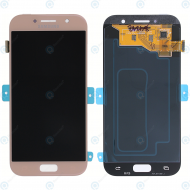 Samsung Galaxy A5 2017 (SM-A520F) Display module LCD + Digitizer pink GH97-19733D_image-2
