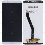 Huawei Honor 7A Display module LCD + Digitizer white