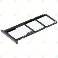 Huawei Honor 7A, Y6 2018 (ATU-L21, ATU-L22) Sim tray + MicroSD tray black