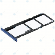 Huawei Honor 7A, Y6 2018 (ATU-L21, ATU-L22) Sim tray + MicroSD tray blue