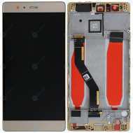 Huawei P9 Plus Display module frontcover+lcd+digitizer gold