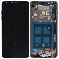 LG G6 (H870) Display unit complete black ACQ90289901 ACQ89384002_image-1