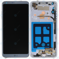 LG G6 (H870) Display unit complete platinum ACQ90290001 ACQ89384001