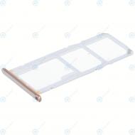 Huawei Y6 2018 (ATU-L21, ATU-L22) Sim tray + MicroSD tray gold