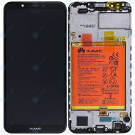 Huawei Y7 2018 (LDN-L01, LDN-L21) Display module frontcover+lcd+digitizer+battery black 02351USA