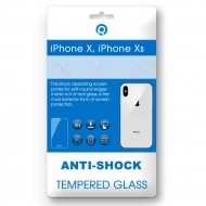 iPhone X, iPhone Xs Tempered glass 3D white (BACK SIDE)