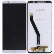 Huawei Y6 Prime 2018 (ATU-L31, ATU-L42) Display module LCD + Digitizer white