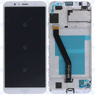 Huawei Honor 7A Display module frontcover+lcd+digitizer white