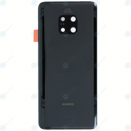 Huawei Mate 20 Pro (LYA-L09, LYA-L29, LYA-L0C) Battery cover black 02352GDC