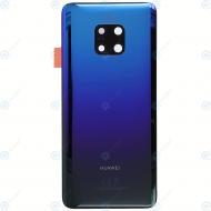Huawei Mate 20 Pro (LYA-L09, LYA-L29, LYA-L0C) Battery cover twilight 02352GDG