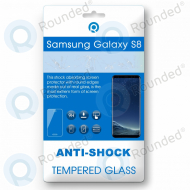 Samsung Galaxy S8 Tempered glass 3D gold