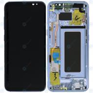 Samsung Galaxy S8 (SM-G950F) Display unit complete blue GH97-20473D GH97-20457D