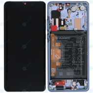 Huawei P30 Pro (VOG-L09 VOG-L29) Display module frontcover+lcd+digitizer+battery breathing crystal 02352PGH