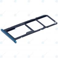Huawei Y7 2019 (DUB-LX1) Sim tray + MicroSD tray aurora blue