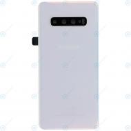 Samsung Galaxy S10 Plus (SM-975F) Battery cover prism white GH82-18406F