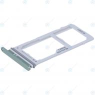 Samsung Galaxy S10 Plus (SM-975F) Sim tray + MicroSD tray prism green GH98-43724E