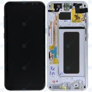Samsung Galaxy S8 Plus (SM-G955F) Display unit complete silver GH97-20470B