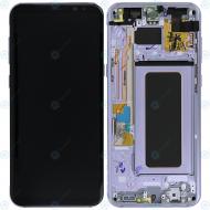 Samsung Galaxy S8 Plus (SM-G955F) Display unit complete violet GH97-20564C GH97-20470C