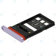 Huawei Mate 20 X (EVR-L29) Sim tray + Nano card tray phantom silver