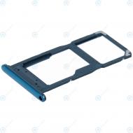 Huawei P smart+ 2019 Sim tray + MicroSD tray starlight blue