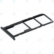 Huawei Y7 Pro 2019 Sim tray + MicroSD tray black