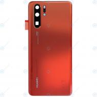 Huawei P30 Pro (VOG-L09 VOG-L29) Battery cover amber sunrise