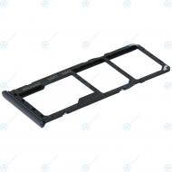 Samsung Sim tray + MicroSD tray black GH98-43922A