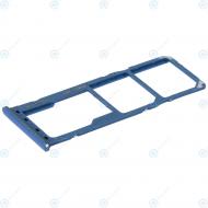 Samsung Sim tray + MicroSD tray blue GH98-43922C