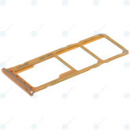 Samsung Sim tray + MicroSD tray coral GH98-43922D