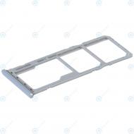 Samsung Sim tray + MicroSD tray white GH98-43922B