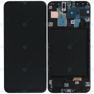 Samsung Galaxy A30 (SM-A305F) Display unit complete black GH82-19725A