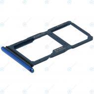 Huawei P20 Lite 2019 Sim tray + MicroSD tray crush blue