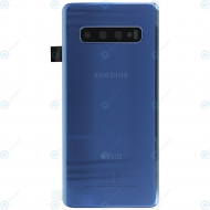 Samsung Galaxy S10 Duos (SM-G973F/DS) Battery cover prism blue GH82-18381C