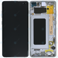 Samsung Galaxy S10 Plus (SM-G975F) Display unit complete canary yellow GH82-18849G