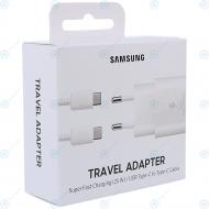 Samsung Super fast travel charger 3000mAh 25W white (EU Blister) EP-TA800XWEGWW