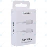 Samsung USB data cable type-C to type-C 1 meter white (EU Blister) EP-DA705BWEGWW