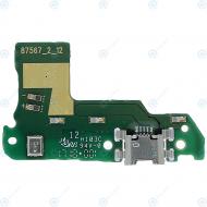 Huawei Y6 2018 Y6 Prime 2018 USB charging board 02351WHT