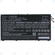Replacement battery LIS1569ERPC 4200mAh for Xperia Z3 Compact Tablet (SGP611, SGP612) 1286-0138 CS-SPZ300SL