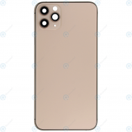 Battery cover incl. frame (without logo) matte gold for iPhone 11 Pro Max