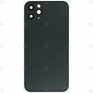 Battery cover incl. frame (without logo) matte midnight green for iPhone 11 Pro Max