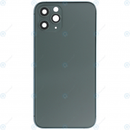Battery cover incl. frame (without logo) matte midnight green for iPhone 11 Pro