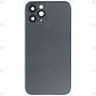 Battery cover incl. frame (without logo) matte space grey for iPhone 11 Pro