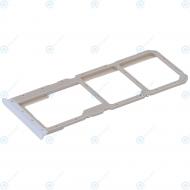 Oppo A52 (CPH2061 CPH2069) Sim tray + MicroSD tray stream white