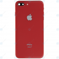 Battery cover with small parts red for iPhone 8