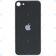 Battery cover with bigger camera hole black for iPhone SE 2020