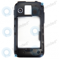 Samsung S5360 Galaxy Y Back Cover Black
