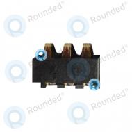 Samsung Galaxy Pocket S5300 Battery connector,  Black spare part BATT