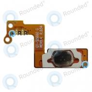 Samsung S5660 Galaxy Gio Home button flexcable, Home button connector  Silver spare part GT-S5660