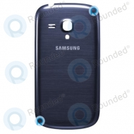 Samsung i8190 Galaxy S3 Mini Battery cover, Battery door Pebble blue spare part BATTC
